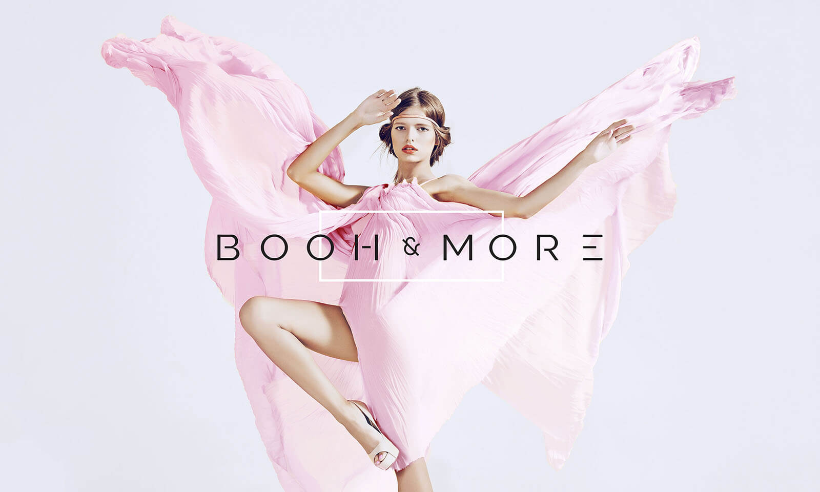 Booh & More // Logotype and Dress