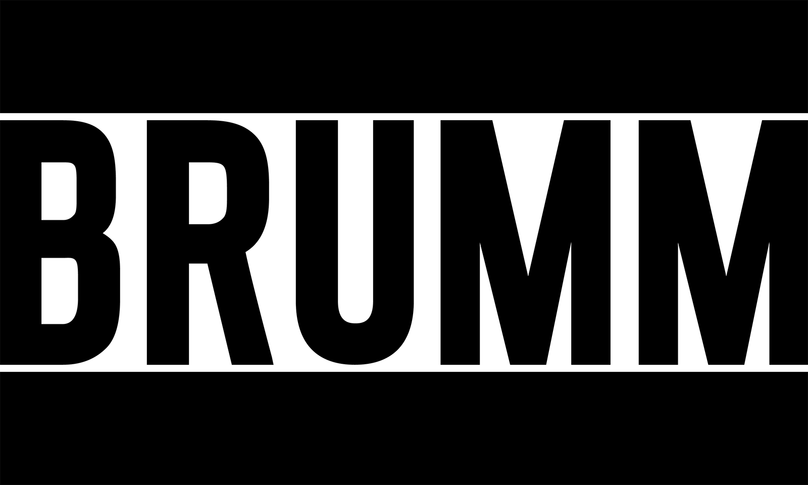 BRUMM // Logotype