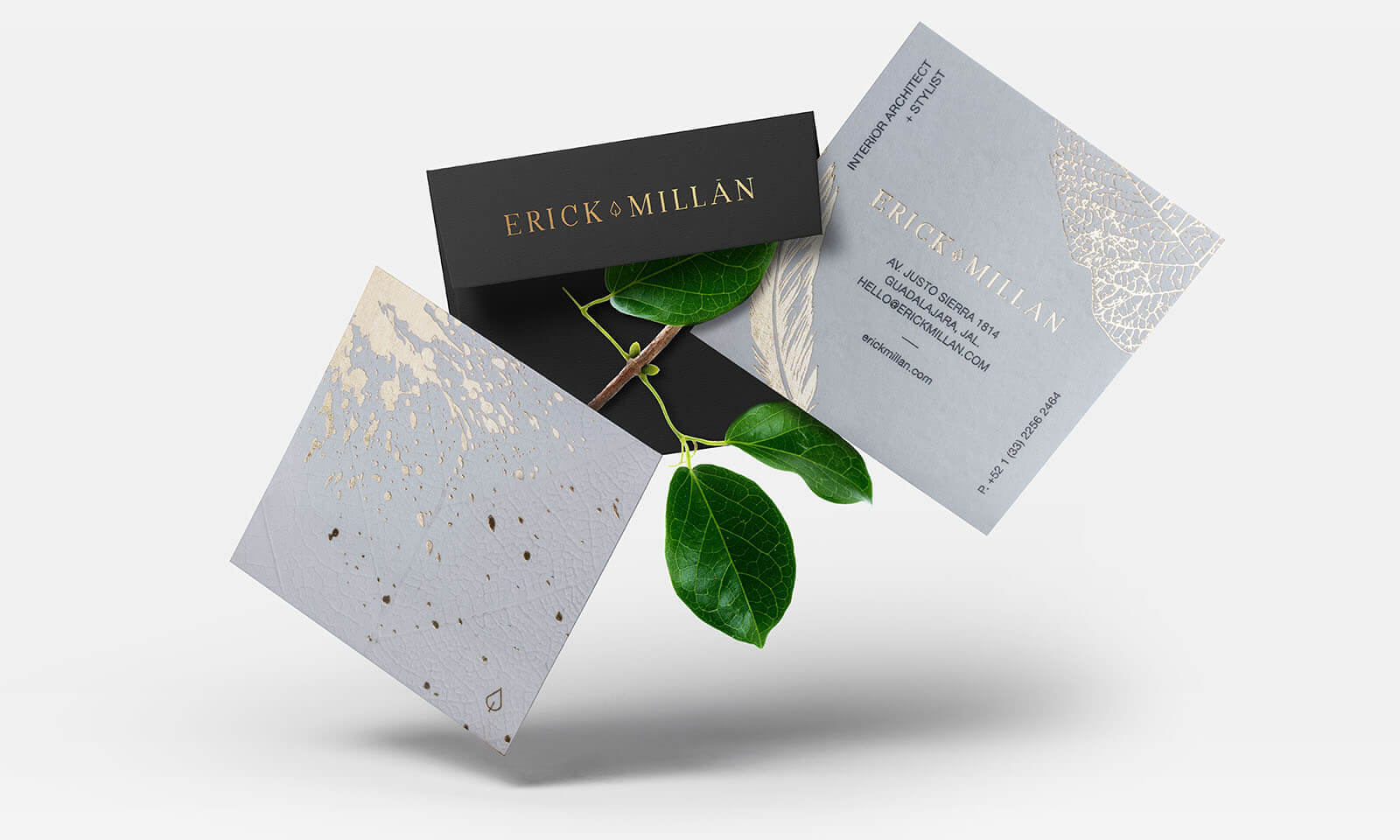 Erick Millan // Business Cards & Envelope