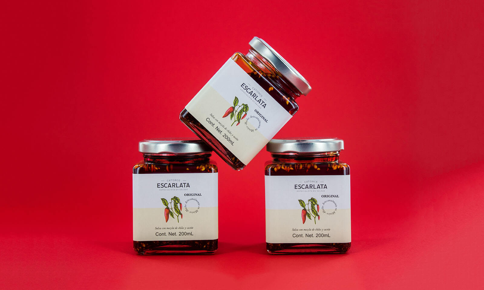Salsa Escarlata // Branding