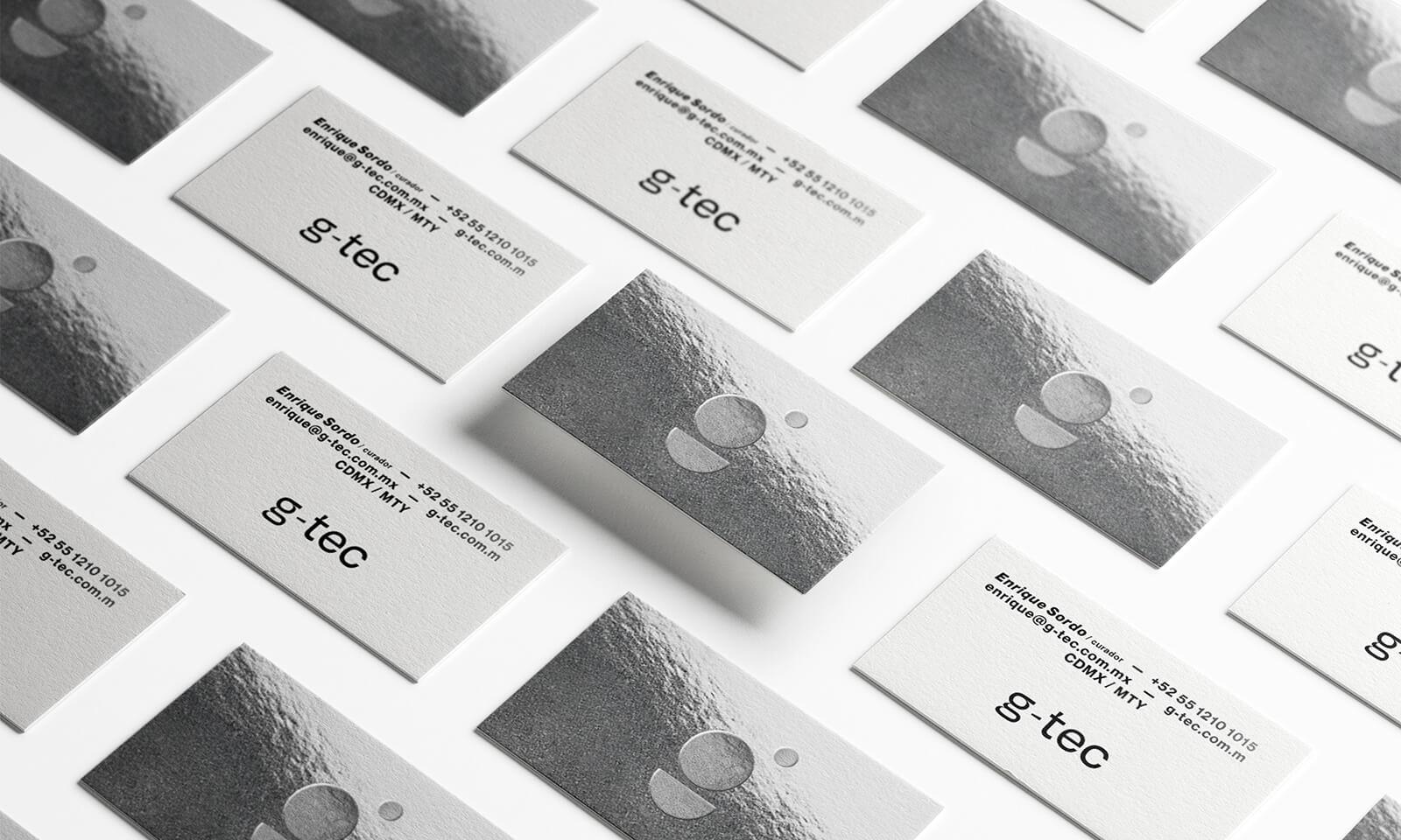 G-TEC // Tarjetas de Presentación