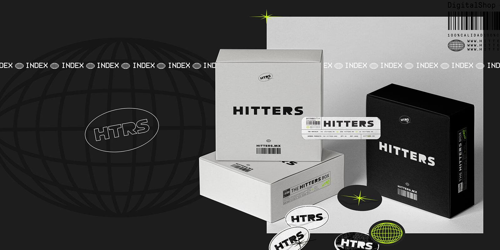 Hitters // Diseño de empaque para envíos