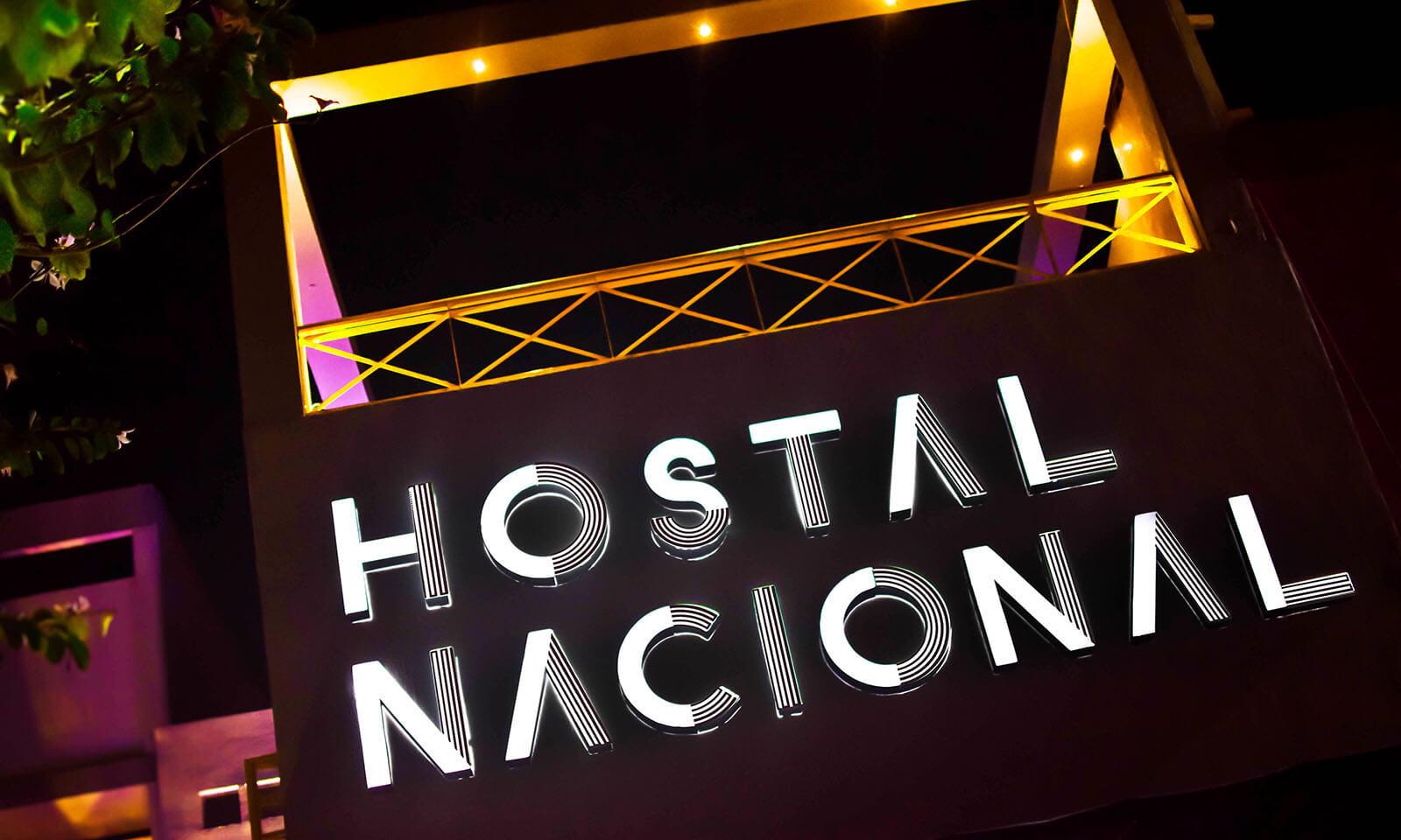 Hostal Nacional // Logotype