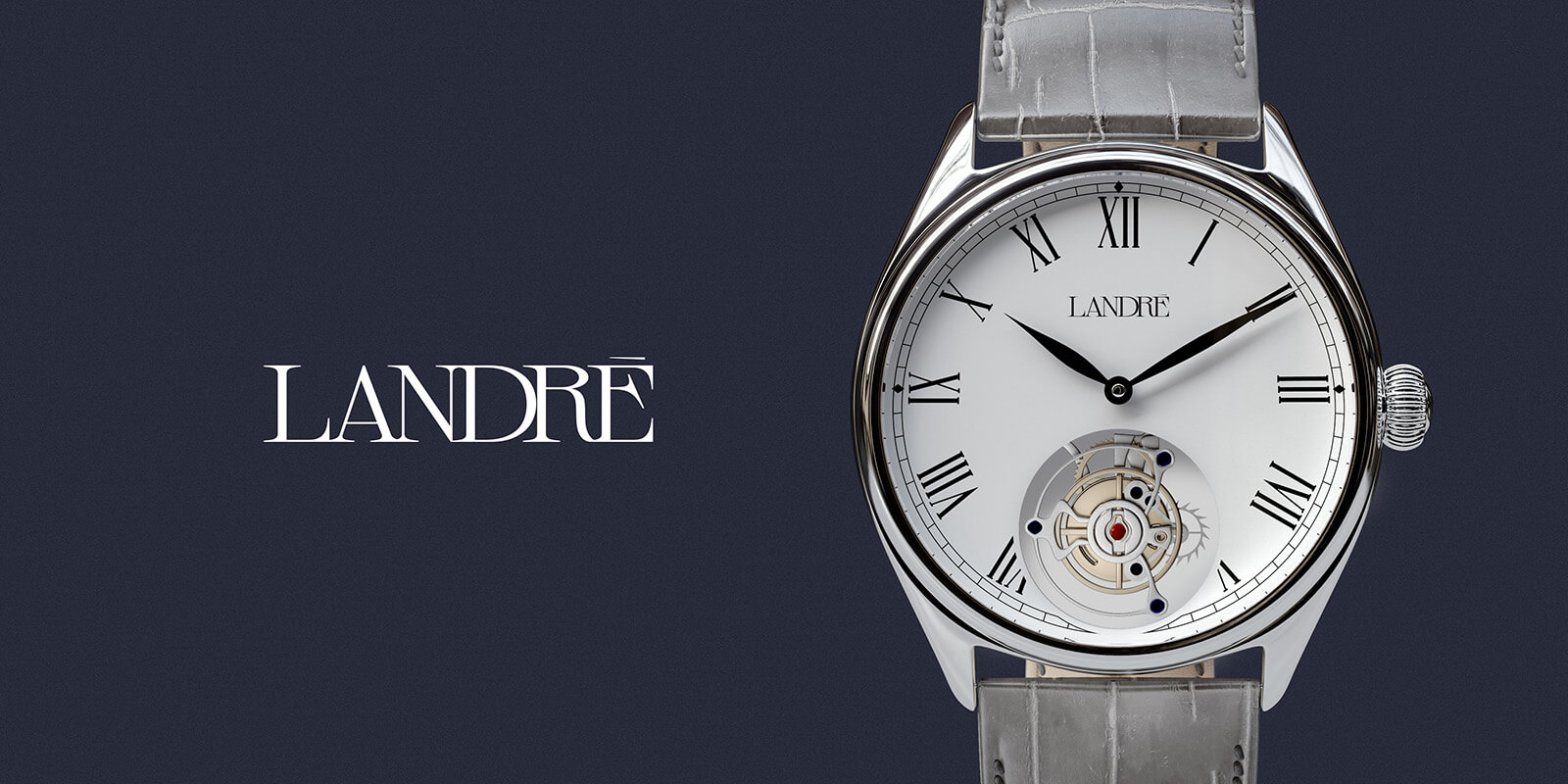 Landré Watches // Logotype and Watch application