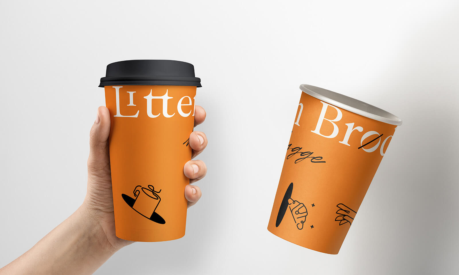Litten Brød — Danish Bakery // Litten Brød Cups