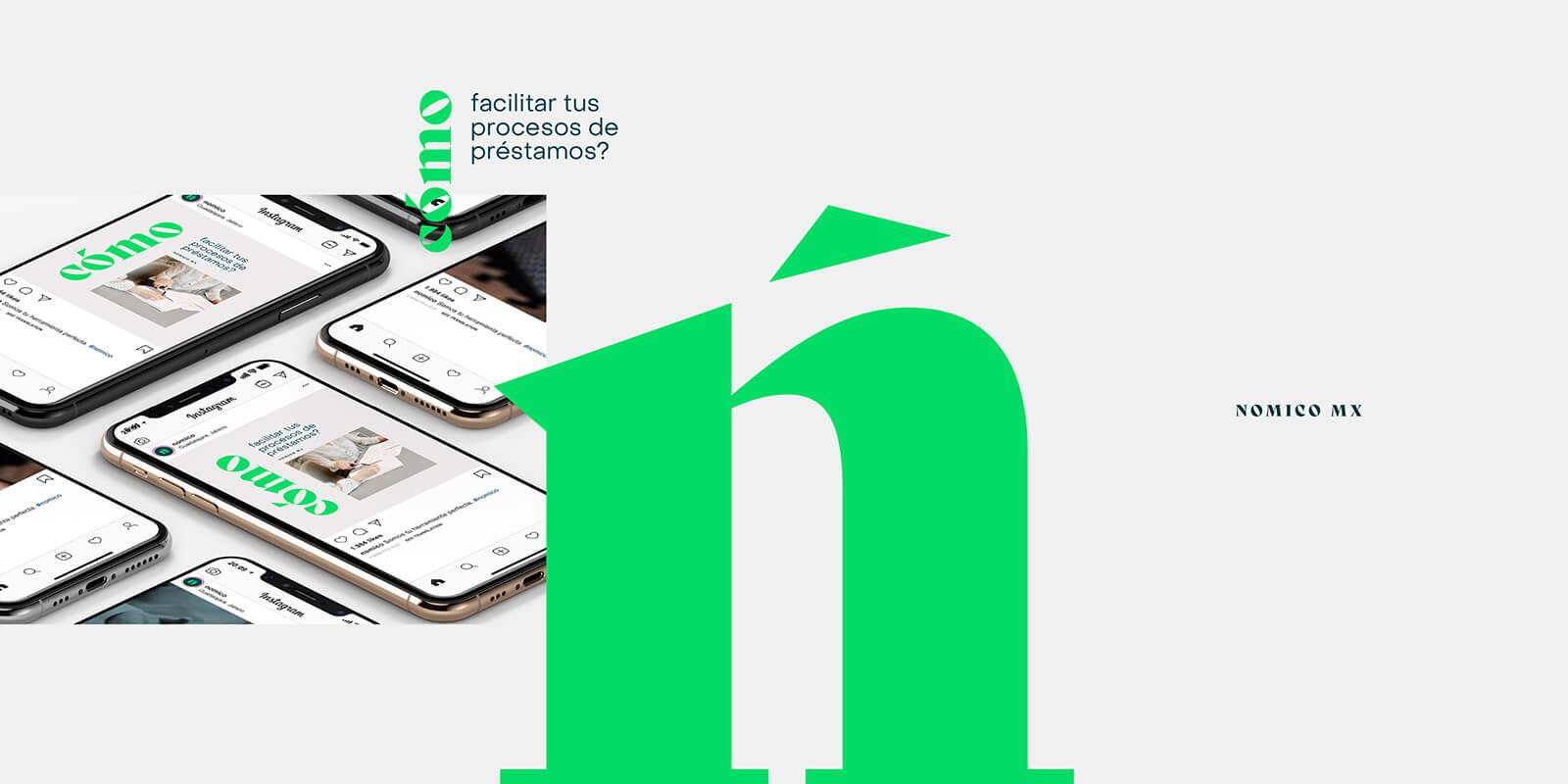 Nómico — Software // Isotipo y Social Media