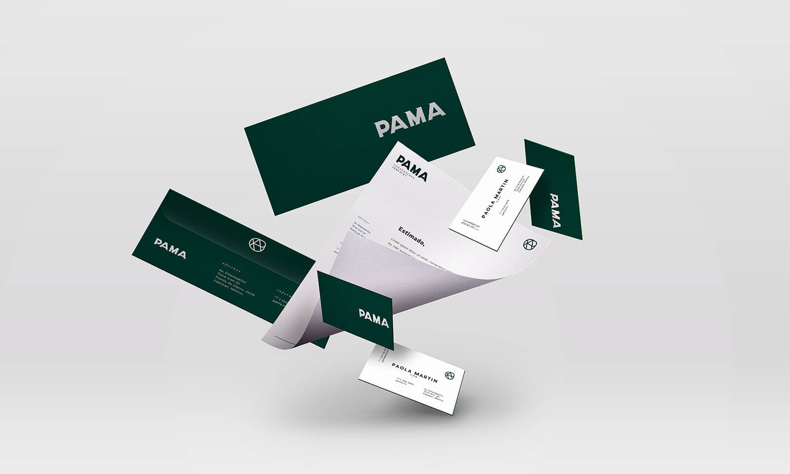 PAMA Consulting // Stationary