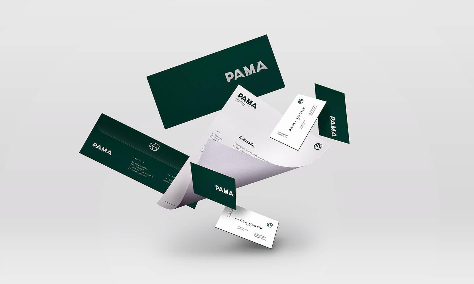 PAMA Consulting // Branding