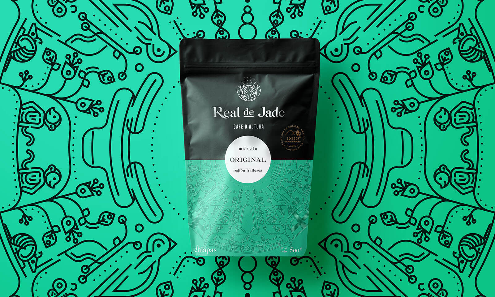 Real de Jade // Coffee Packaging