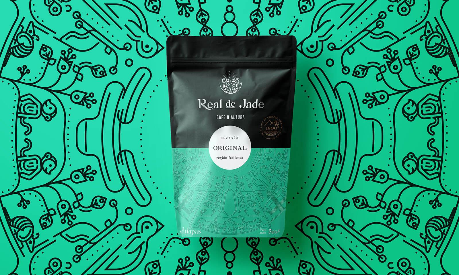 Real de Jade // Empaque de Café