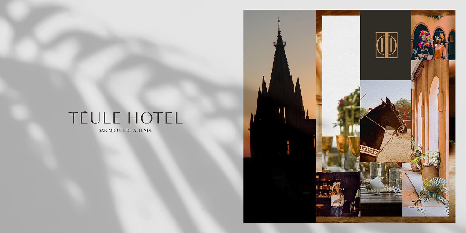 Téule Hotel // Branding Concept