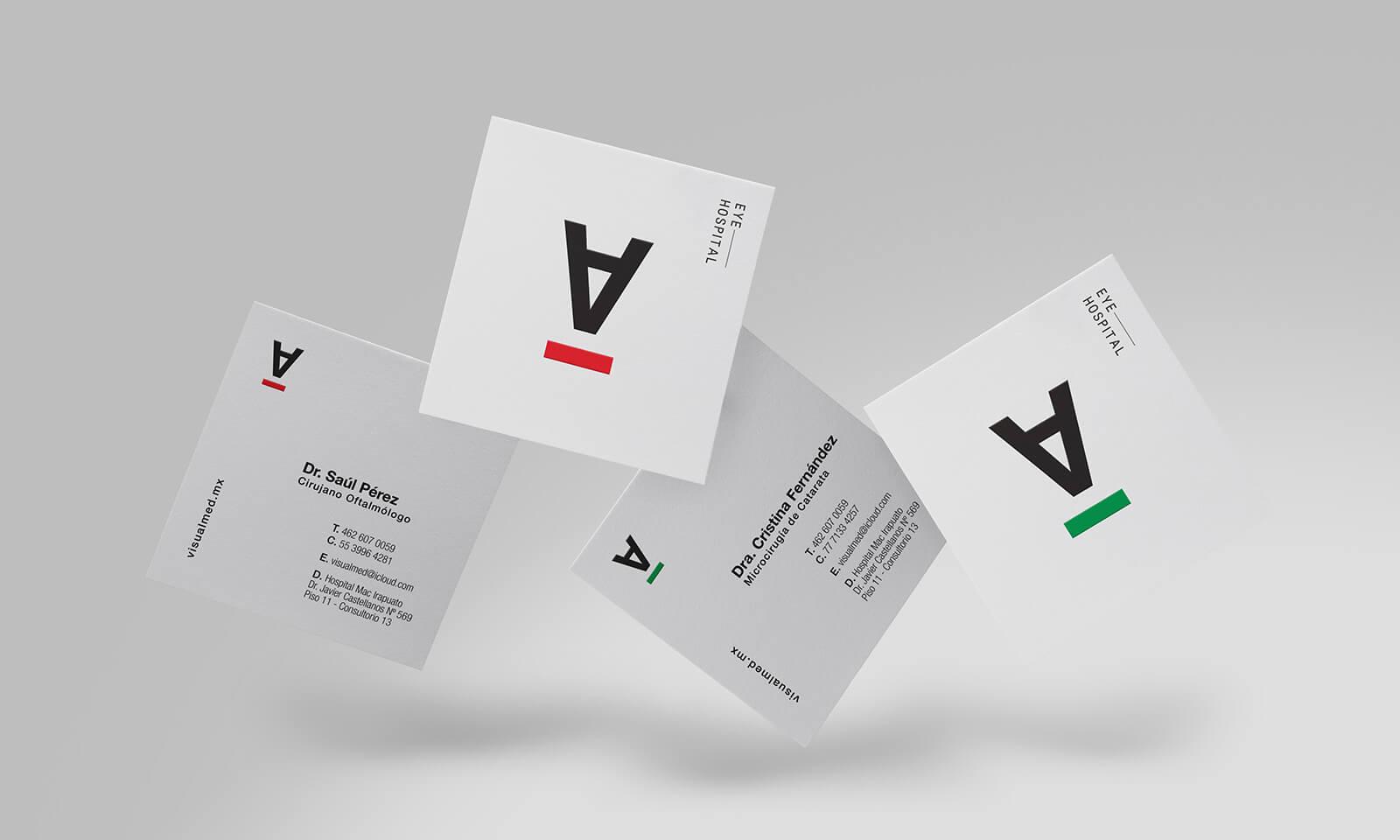 VISUALMED // Business Cards