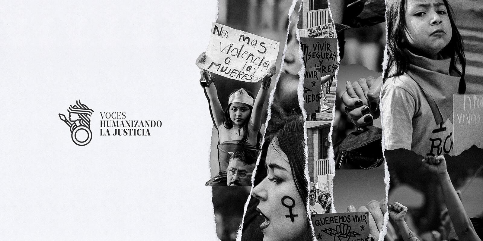 Voces Humanizando la Justicia A.C. // Logotype