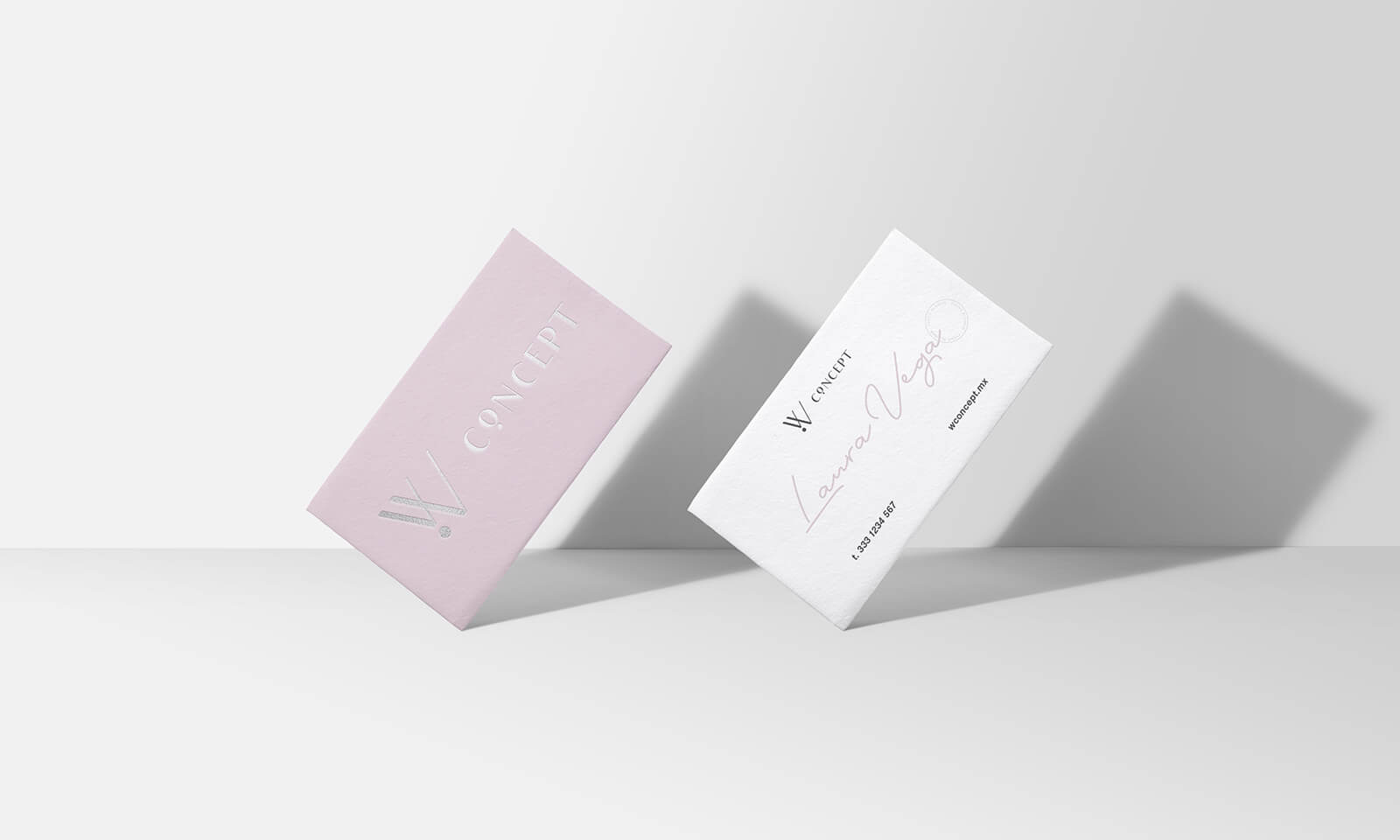 W Concept // Business Cards